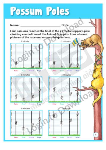 Possum Poles