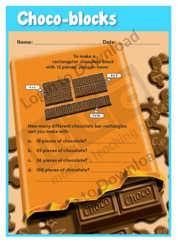 Choco-blocks