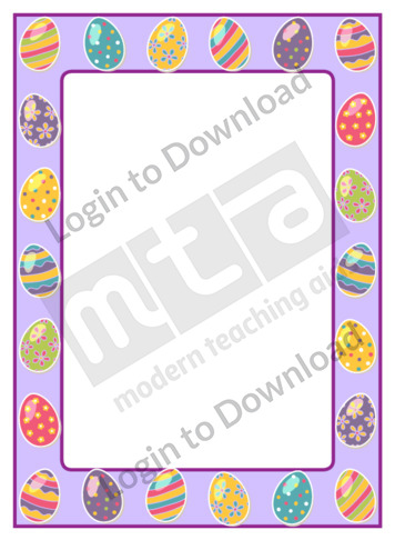 Easter Page Border
