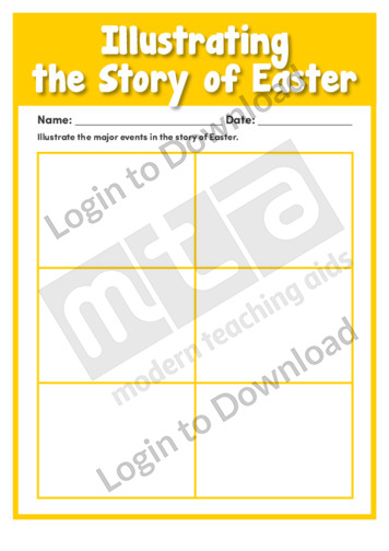 Illustrating the Story of Easter