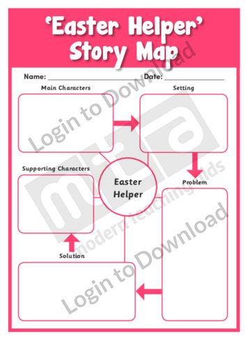 Easter Helper' Story Map