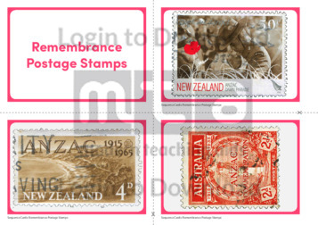 Remembrance Postage Stamps