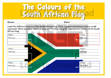 The Colours of the South African Flag