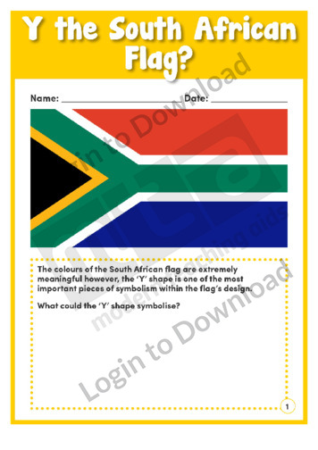 Y The South African Flag?