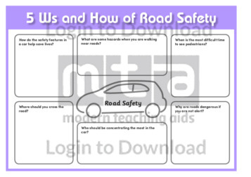 5Ws and How of Road Safety
