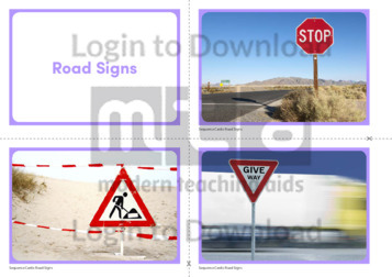 Road Sign Photo Cards
