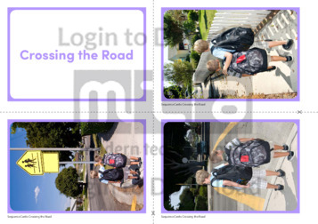 Crossing the Road Photo Sequence Cards