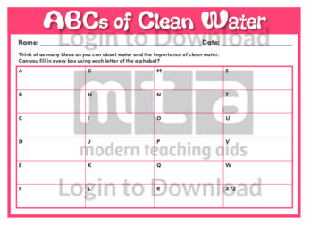 ABCs of Clean Water