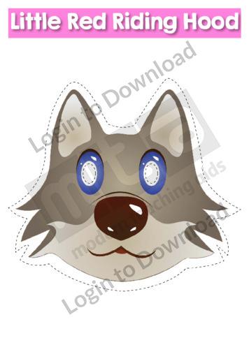115833E01_MasksLittleRedRidingHood02