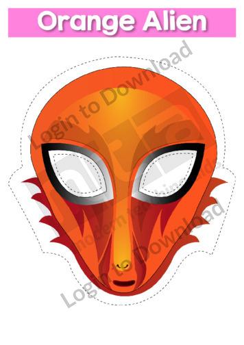 Orange Alien