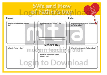 5Ws and How About Father's Day