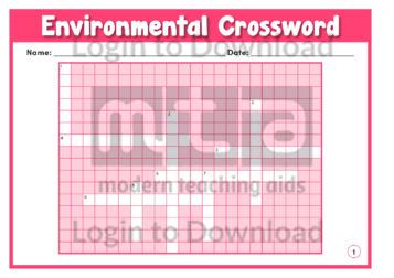 Environmental Crossword