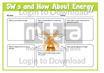 5Ws and How About Energy