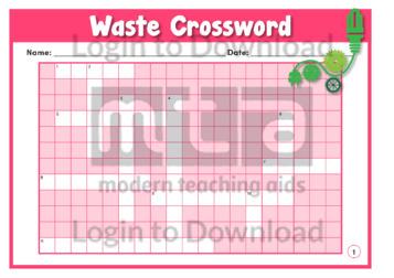 Waste Crossword