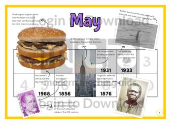 History at a Glance: May (2)