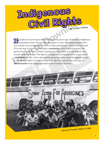 Indigenous Civil Rights