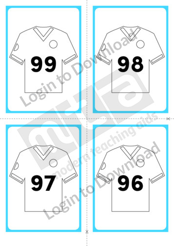 Soccer Shirt Cards