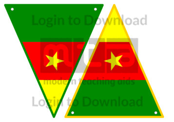 Cameroonian Flag Bunting