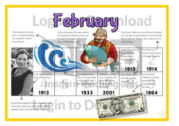 History at a Glance: February (2)