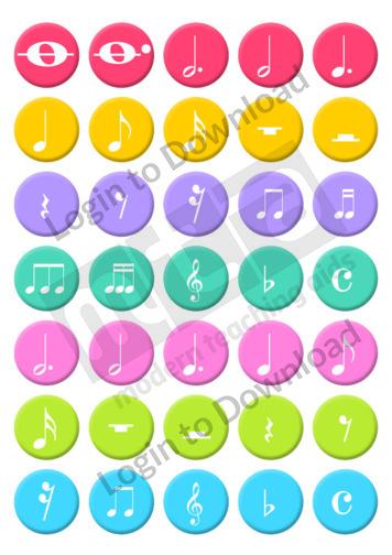 116277E01_MusicMusicNoteRhythmStickers01