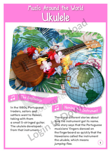 Music Around the World: Ukulele