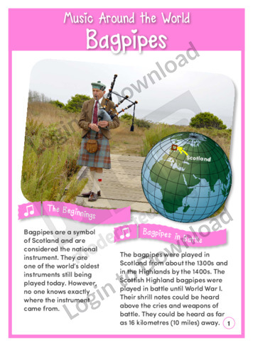 Music Around the World: Bagpipes