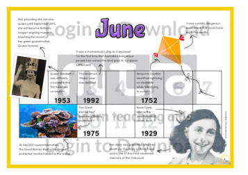 History at a Glance: June (2)