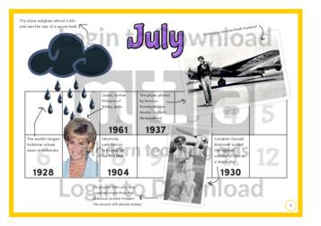 History at a Glance: July (2)