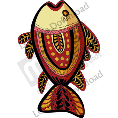 116496Z01_Clipart_AboriginalFish01
