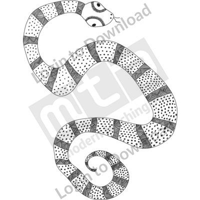 Snake B&W