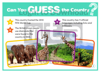 Guess Who: South Africa