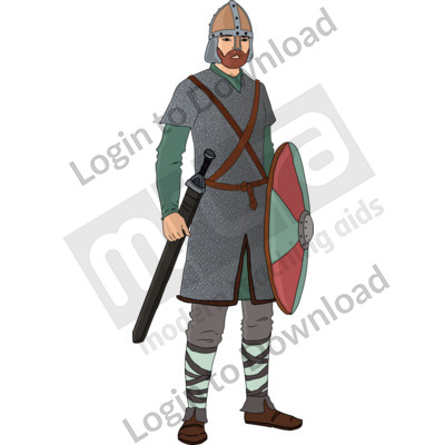 Anglo-Saxon warrior