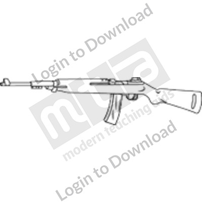 Rifle B&W