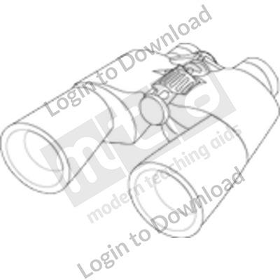 118429Z01_Clipart_Binocular_BW01