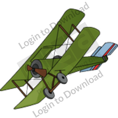 WWI fighter plane