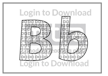 118542E01_DisplayAlphabetBonesBW02