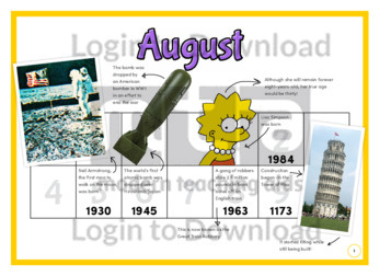 118984E02_HistoryforKidsHistoryataGlanceAugust01