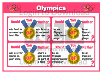 Olympics Would You Rather