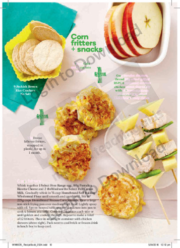 FFK Corn Fritters & Snacks