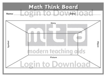 Math Think Board 1