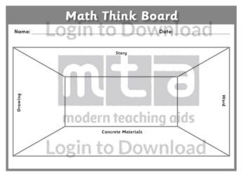 Math Think Board 2