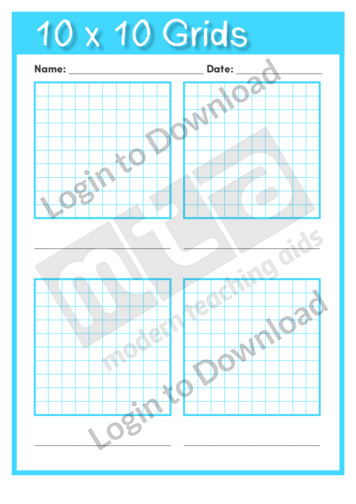 10×10 Grids Template