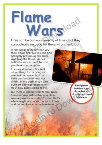 Flame Wars