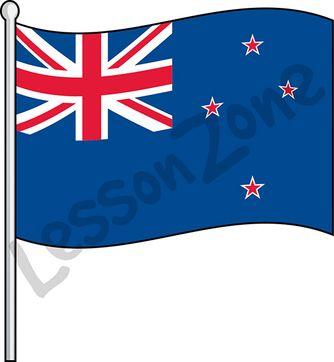New Zealand, flag
