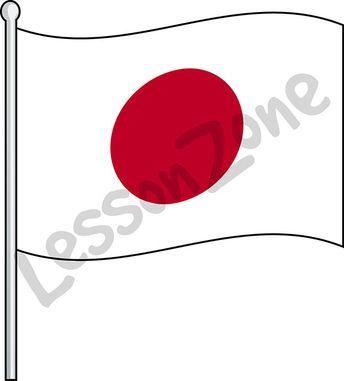 Japan, flag