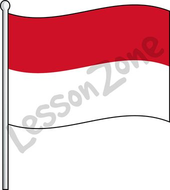 Indonesia, flag