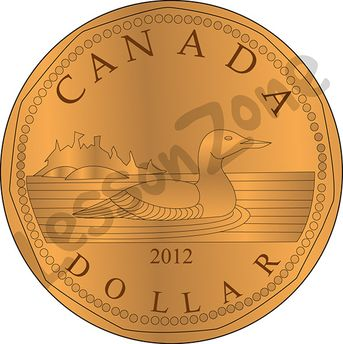 Canada, $1 coin