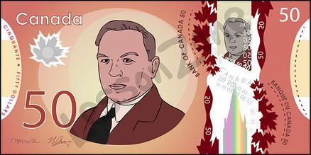 Canada, $50 note