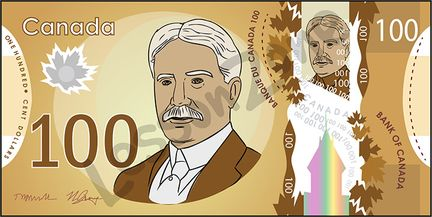 Canada, $100 note