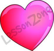Love heart gradient